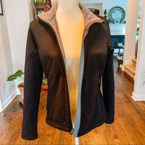 REI Soft Shell Black Jacket Small